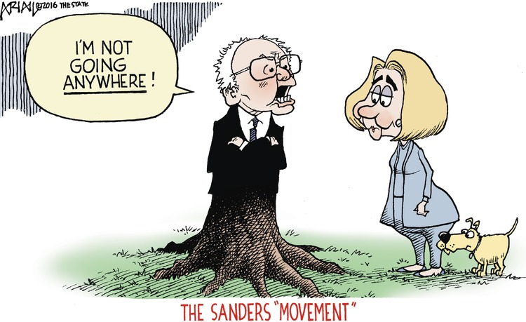 "The Sanders ""movement"" 