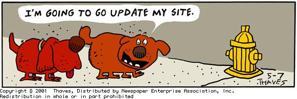 Frank and Ernest Comic Strip for May 07, 2001