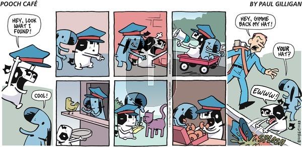 Pooch Cafe - Sunday November 23, 2014 Comic Strip