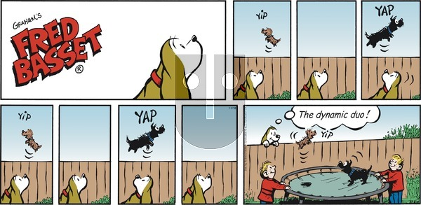 Fred Basset on Sunday November 10, 2019 Comic Strip