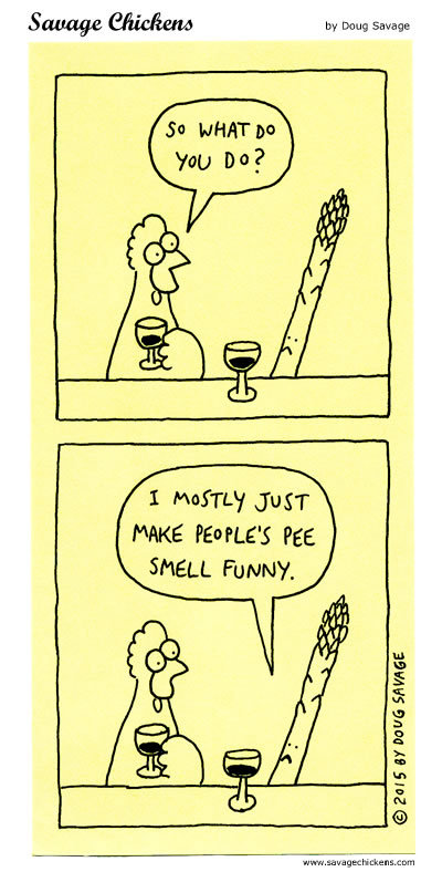 Savage Chickens Comic Strip for August 19, 2019
