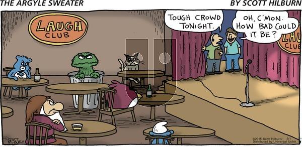 The Argyle Sweater - Sunday March 1, 2015 Comic Strip