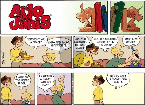 Arlo and Janis on Sunday June 16, 2019 Comic Strip
