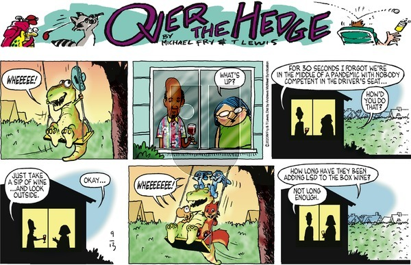 Over the Hedge on Sunday September 13, 2020 Comic Strip