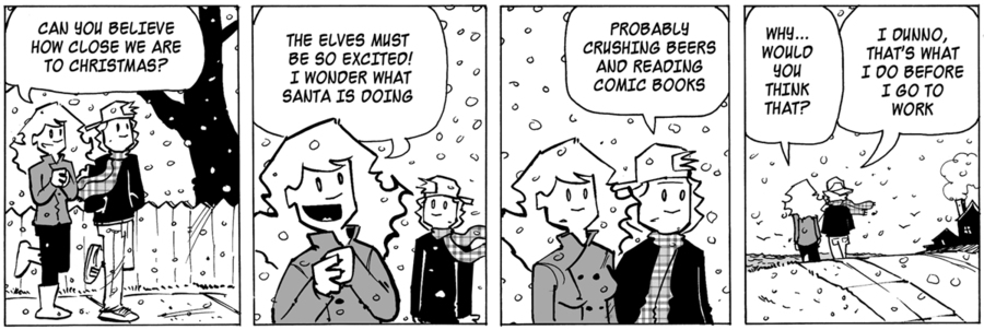 Ordinary Bill Comic Strip for December 04, 2019