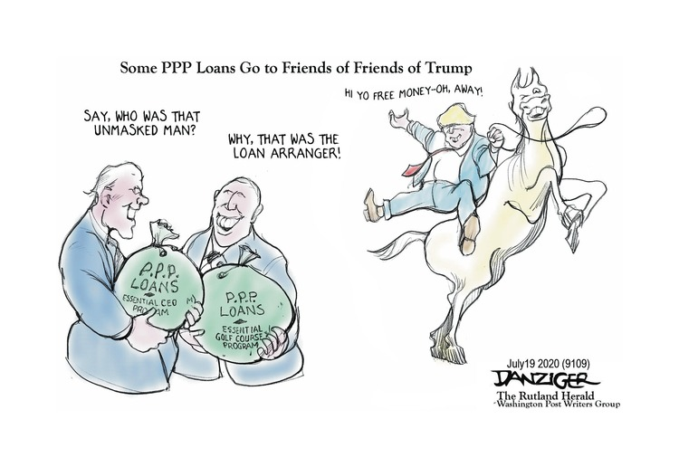 Jeff Danziger by Jeff Danziger on Sun, 12 Jul 2020