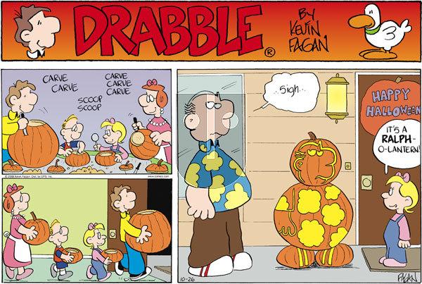 Drabble on Sunday October 26, 2008 Comic Strip