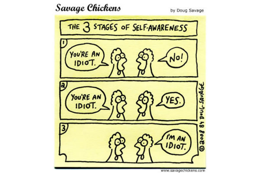 The 3 stages of self-awareness