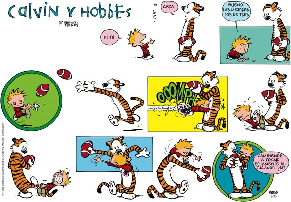 Calvin and Hobbes en Español