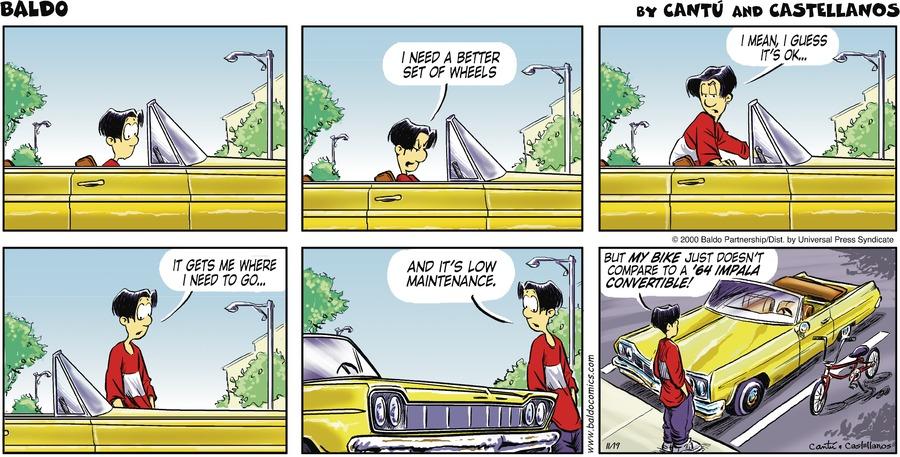 Baldo for Nov 19, 2000 Comic Strip