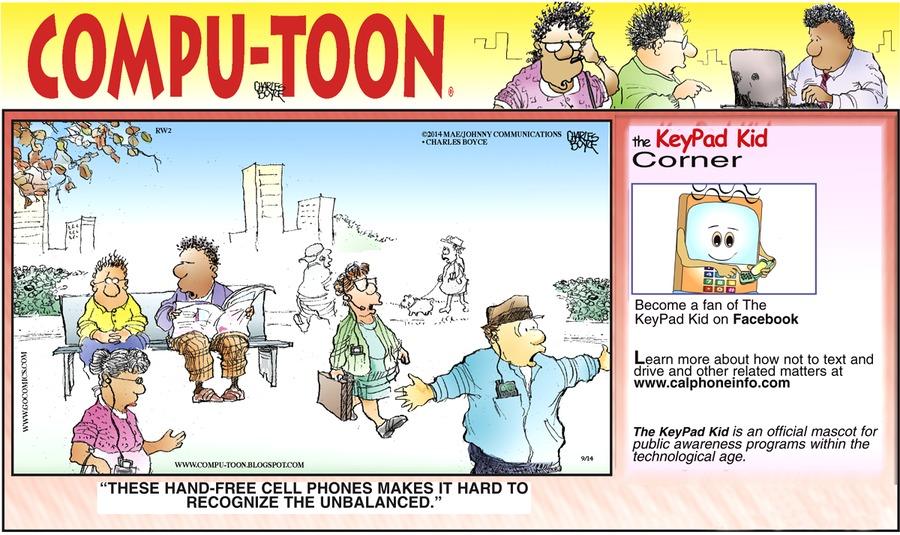 Compu-toon for Sep 14, 2014 Comic Strip