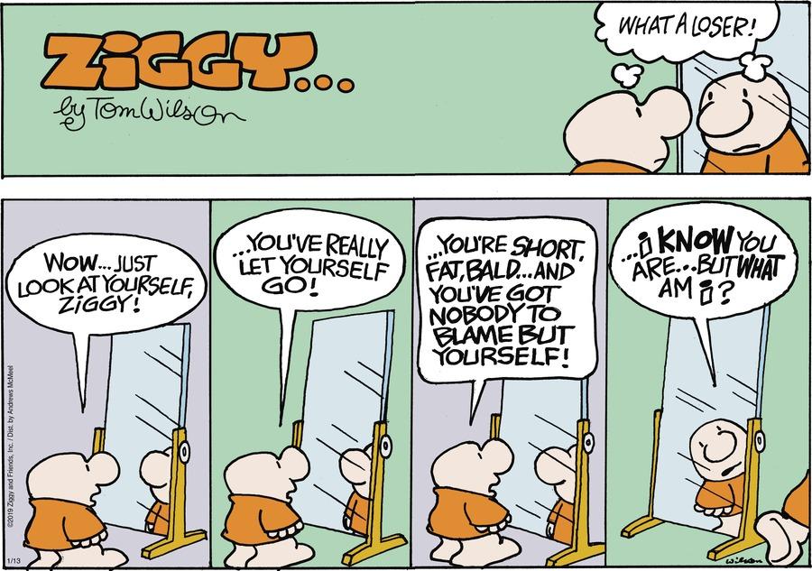 Ziggy Comic Strip for January 13, 2019