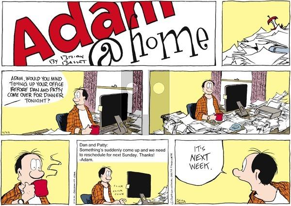 Adam@Home on Sunday February 22, 2009 Comic Strip