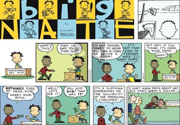 Big Nate on Sunday October 15, 2017 Comic Strip