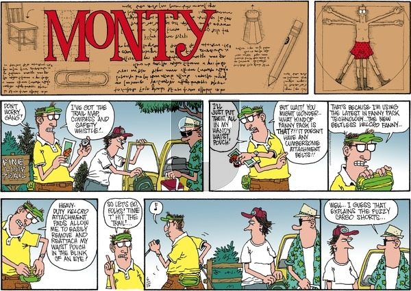 Monty on Sunday June 15, 2014 Comic Strip