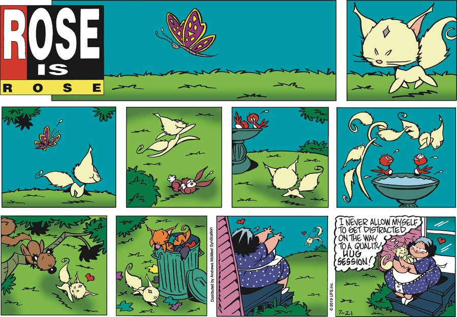 Rose is Rose Comic Strip for July 21, 2019