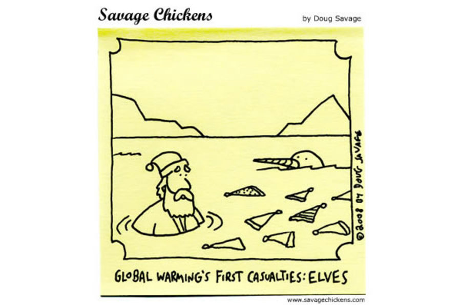 Global warming's first casualties: Elves