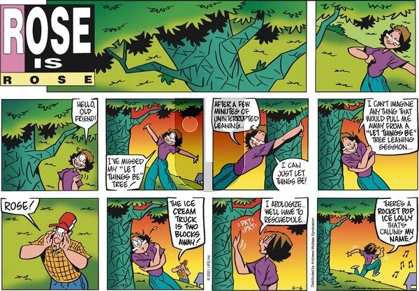 Rose is Rose on Sunday June 6, 2021 Comic Strip