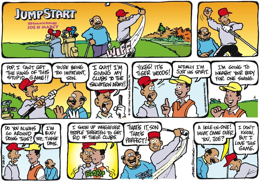JumpStart for Sep 28, 1997 Comic Strip
