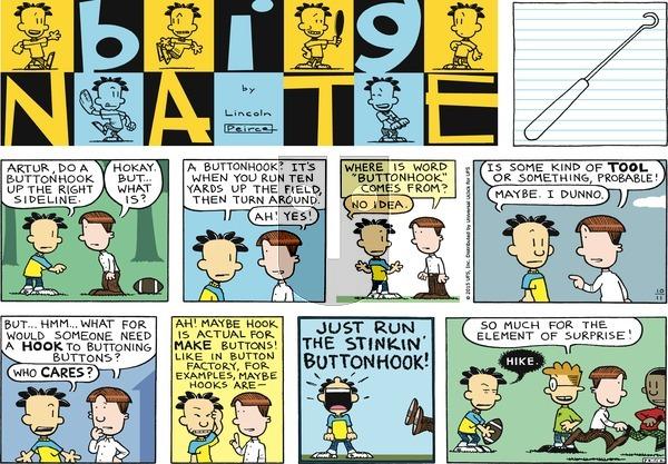 Big Nate on Sunday October 11, 2015 Comic Strip
