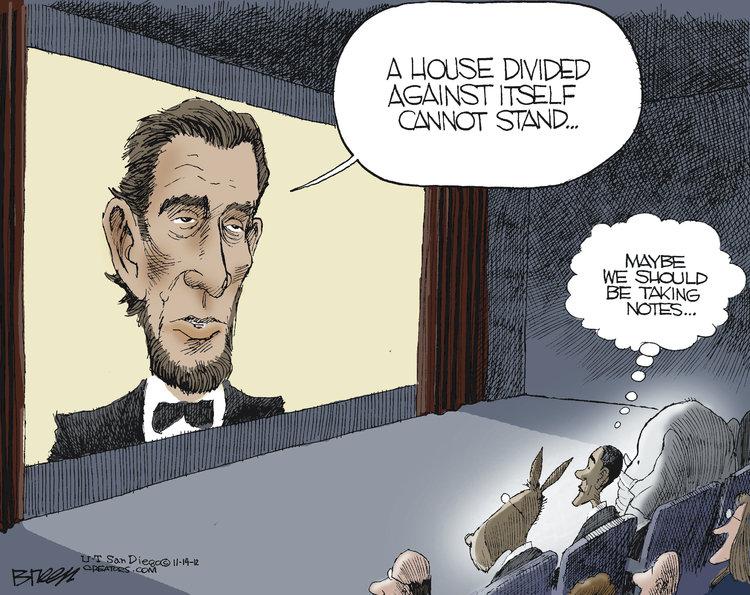 Steve Breen for Nov 14, 2012 Comic Strip