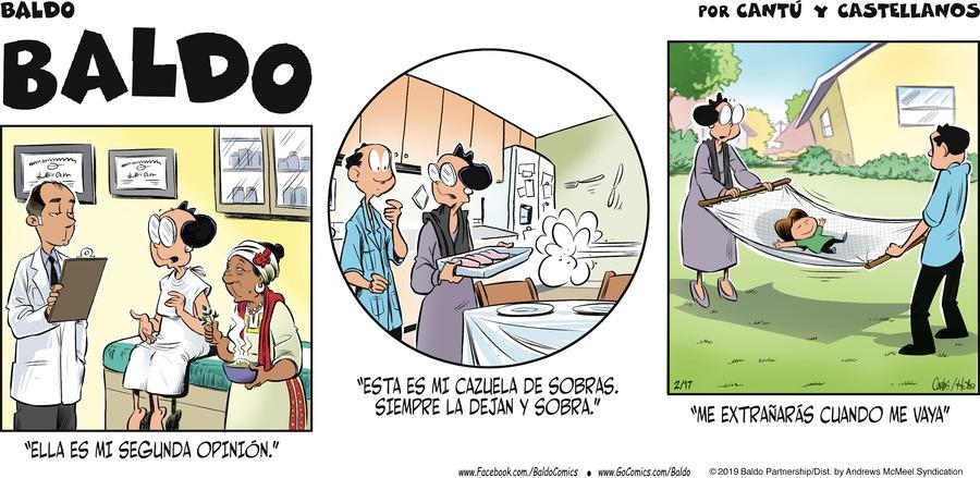 Baldo en Español Comic Strip for February 17, 2019