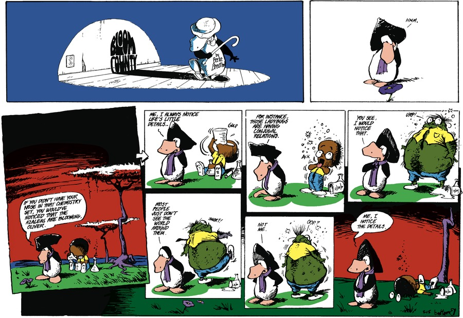 Bloom County for May 15, 1988 Comic Strip