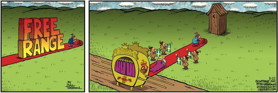 Free Range Comic Strip for August 22, 2021