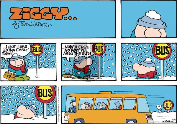 Ziggy on Sunday December 10, 2017 Comic Strip