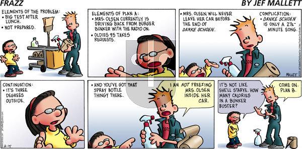 Frazz on Sunday February 15, 2009 Comic Strip