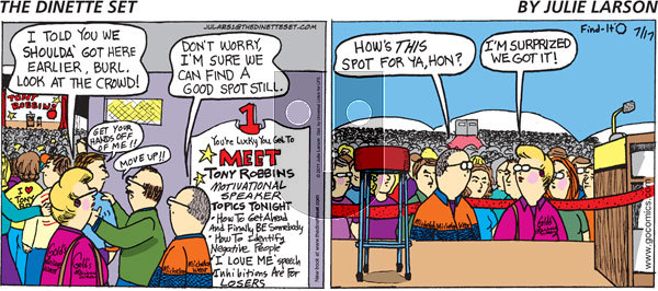 The Dinette Set on Wednesday May 12, 2021 Comic Strip