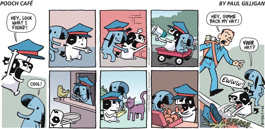 Pooch Cafe Comic Strip for November 23, 2014