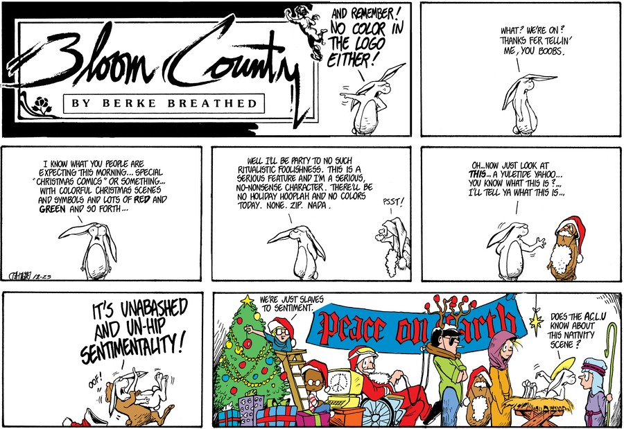 Bloom County Comic Strip for October 21, 2019