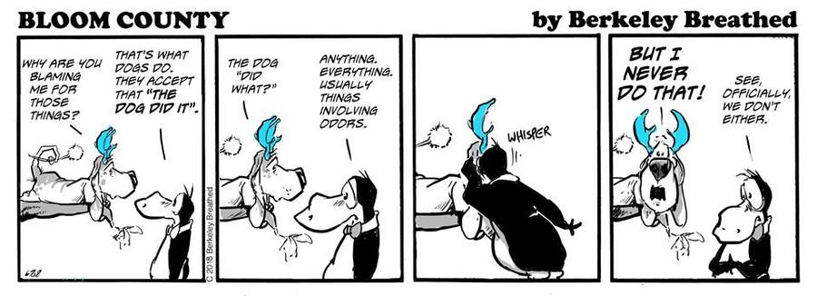 Bloom County 2018 Comic Strip for September 26, 2018