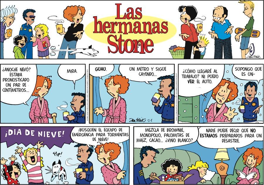 Las Hermanas Stone by Jan Eliot on Sun, 08 Dec 2019