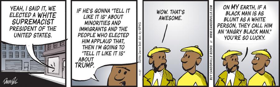Candorville Comic Strip for November 17, 2016