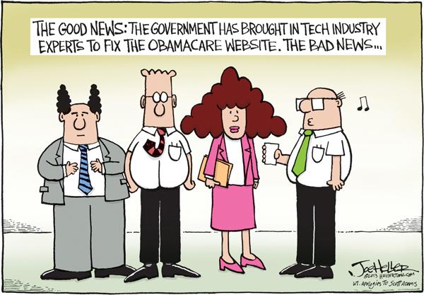Joe Heller for Oct 23, 2013 Comic Strip
