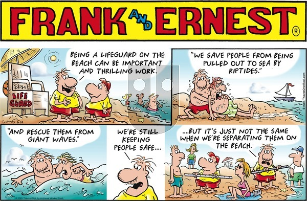 Frank and Ernest on Sunday June 14, 2020 Comic Strip