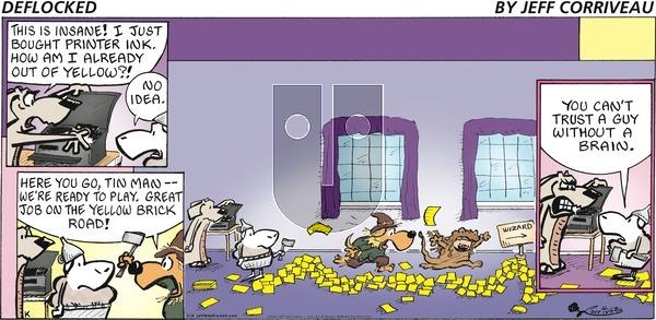 DeFlocked - Sunday February 9, 2020 Comic Strip