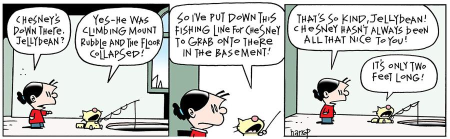 Ten Cats for Feb 13, 2014 Comic Strip