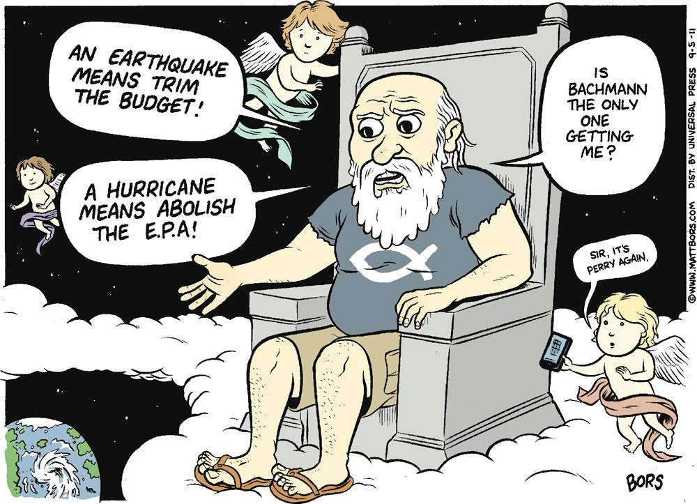 Matt Bors Comic Strip for September 05, 2011