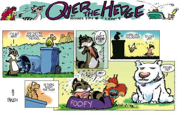 Over the Hedge on Sunday August 5, 2018 Comic Strip