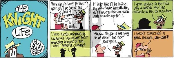 The Knight Life on Sunday April 16, 2017 Comic Strip