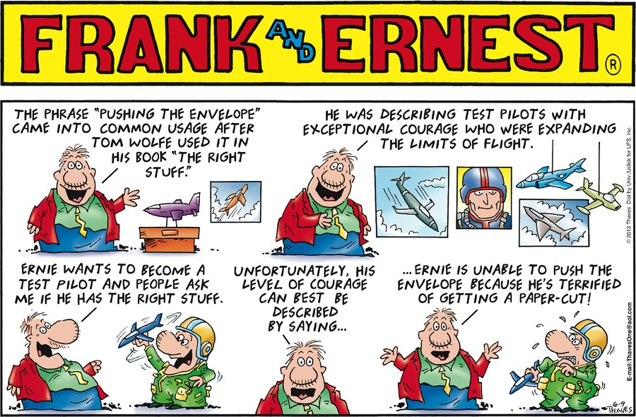 Frank and Ernest Comic Strip for June 09, 2013