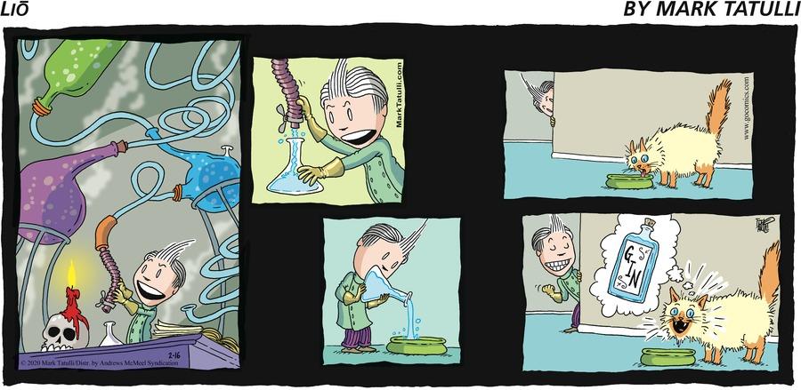 Lio Comic Strip for February 16, 2020