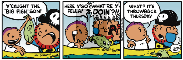 Pirate Mike on December 13, 2018 Comic Strip