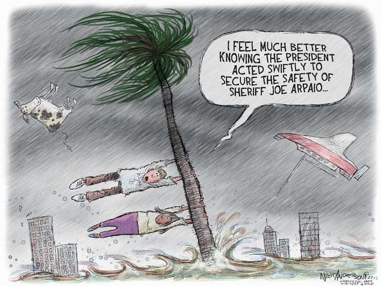 Nick Anderson Comic Strip for August 27, 2017