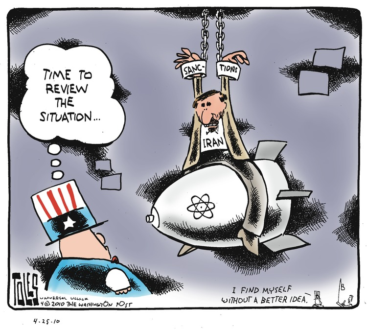 Uncle Sam: Time to review the situation... I find myself without a better idea.