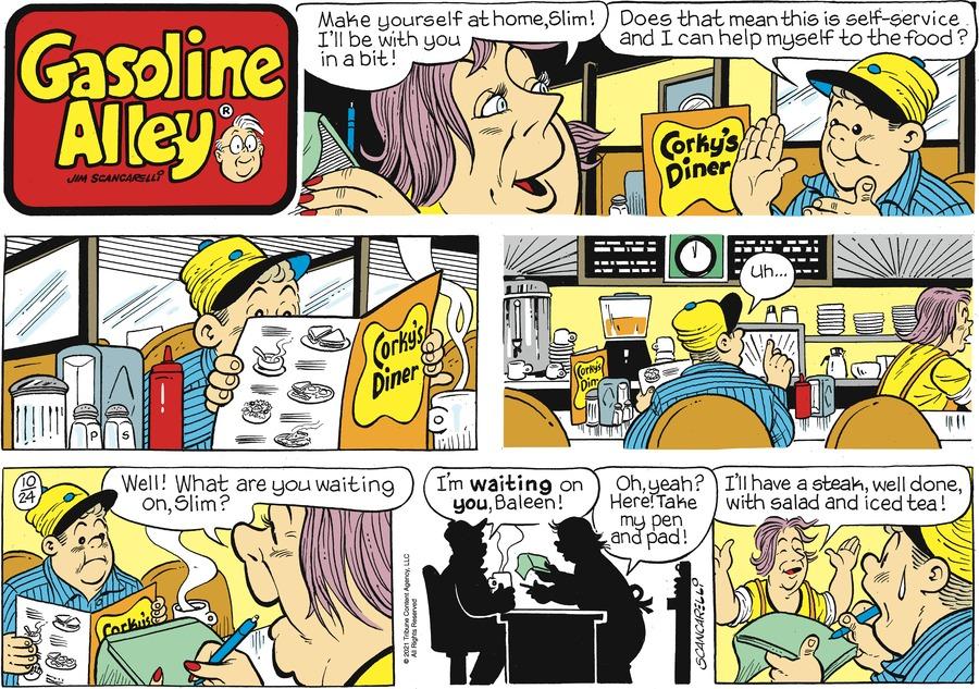 Gasoline Alley by Jim Scancarelli on Sun, 24 Oct 2021