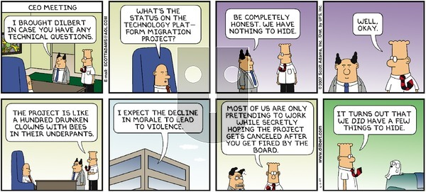 Dilbert on Sunday June 3, 2007 Comic Strip